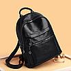 Рюкзак жіночий шкіряний Pretty Hefan Daishu, фото 3