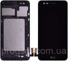 Дисплей Lg K4 (2017) M160 Complete С Рамкой Black