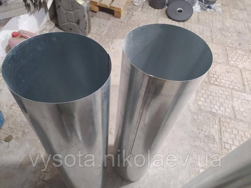 Труба вентиляційна, кругла, оцинковка 0,5 мм ,, діаметр 315 мм, 1м. вентиляція.