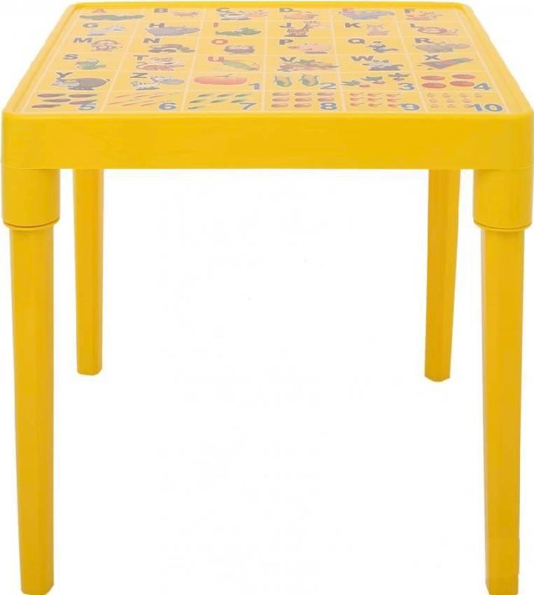 Стол детский Азбука английская Желтый