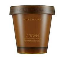 Аргановая маска для поврежденных волос Nature Republic Argan Essential Deep Care Hair Pack 200 мл
