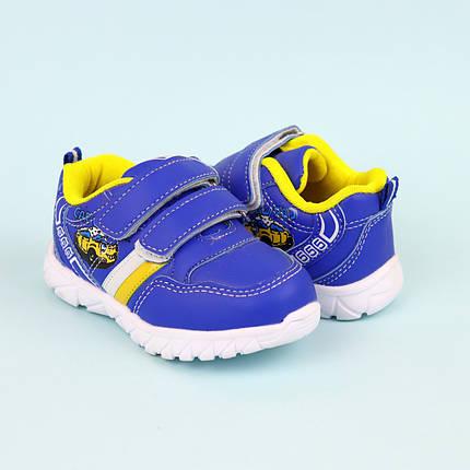 Сині кросівки на хлопчика з смужкою фабрика Тому.m р. 21,22, фото 2