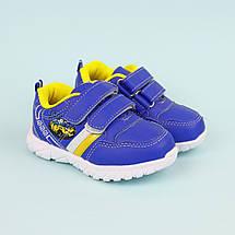 Сині кросівки на хлопчика з смужкою фабрика Тому.m р. 21,22, фото 3