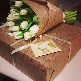 Упаковка оберточная, пленка для цветов