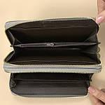 Лаковий гаманець жіночий зі штучної шкіри на дві блискавки Shen Duo (88-1), фото 5