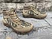 Ботинки тактические, берцы летние из натуральной кожи и ткани пиксель ДК ботинок писель, фото 6