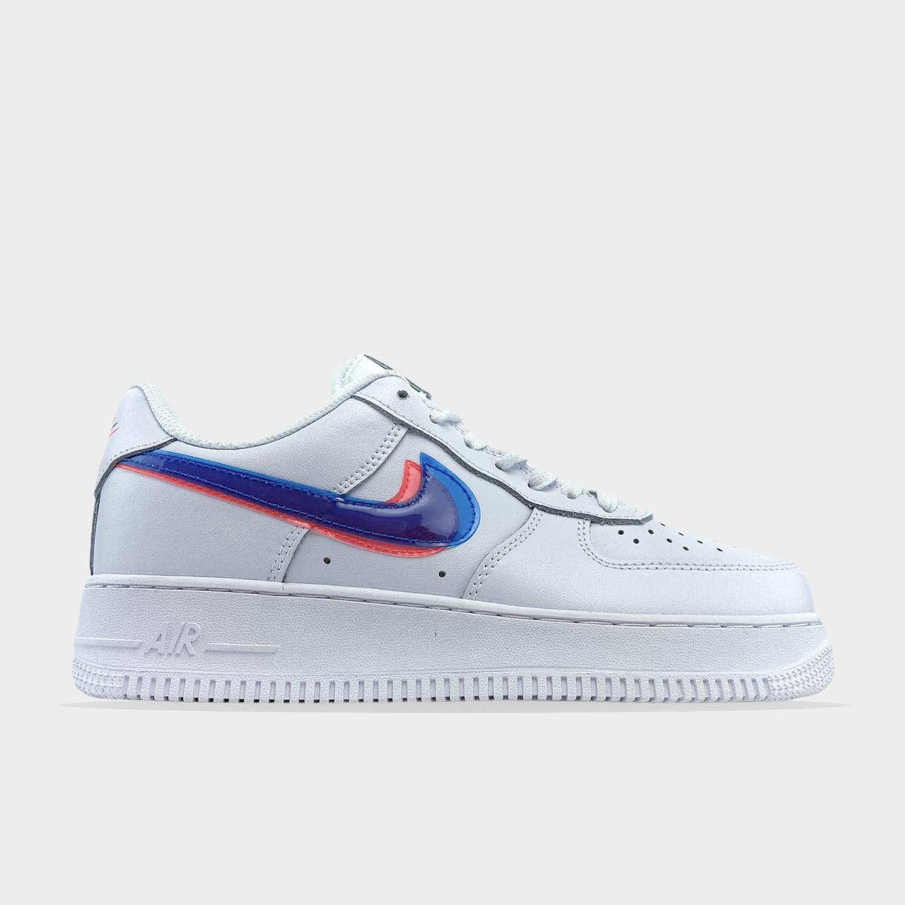 Air Force 1 Low White Blue (Білий)