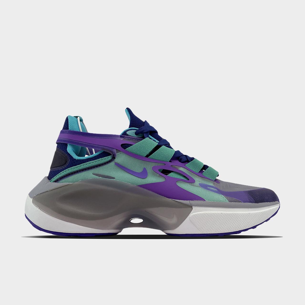 Nk, крос, обувь, взуття, sneakers, шузы, Signal D Purple Blue (Фиолетовый)