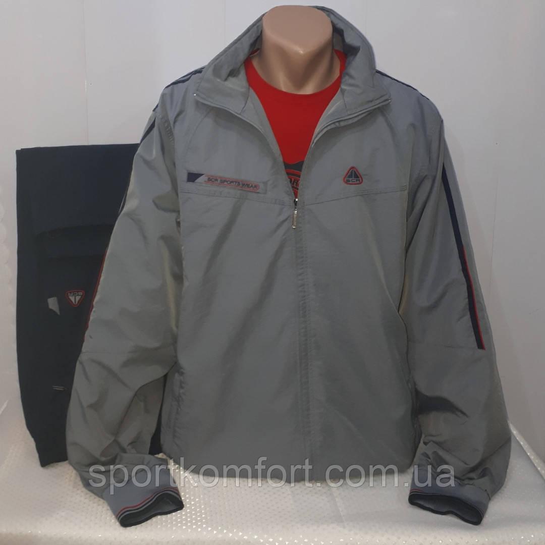 Чоловічий спортивний прогулянковий костюм з плащової тканини, Туреччина, Соккер великого розміру.