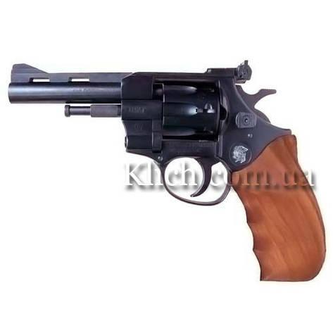 Револьвер под патрон Флобера Arminius HW4 4'', с деревянной рукояткой, фото 2