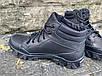 Ботинки тактические, берцы из натуральной кожи черного цвета Бот дк черный, фото 3