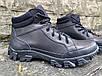 Ботинки тактические, берцы из натуральной кожи черного цвета Бот дк черный, фото 6