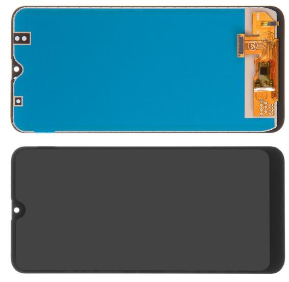 Дисплей для Samsung A307 Galaxy A30s модуль в сборе с тачскрином, черный, TFT Сopy