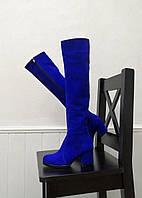 Стильные ботфорты на каблуке, фото 1