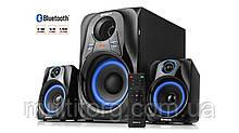 Колонки 2.1 REAL-EL M-380 black (32Вт, Bluetooth, USB, SD, FM, ДУ) УЦІНКА