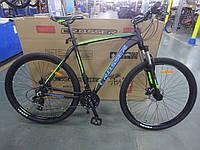 """Велосипед алюминиевый Crosser Inspiron 29"""" рама 22"""" черно-зелёный, горный, фото 1"""