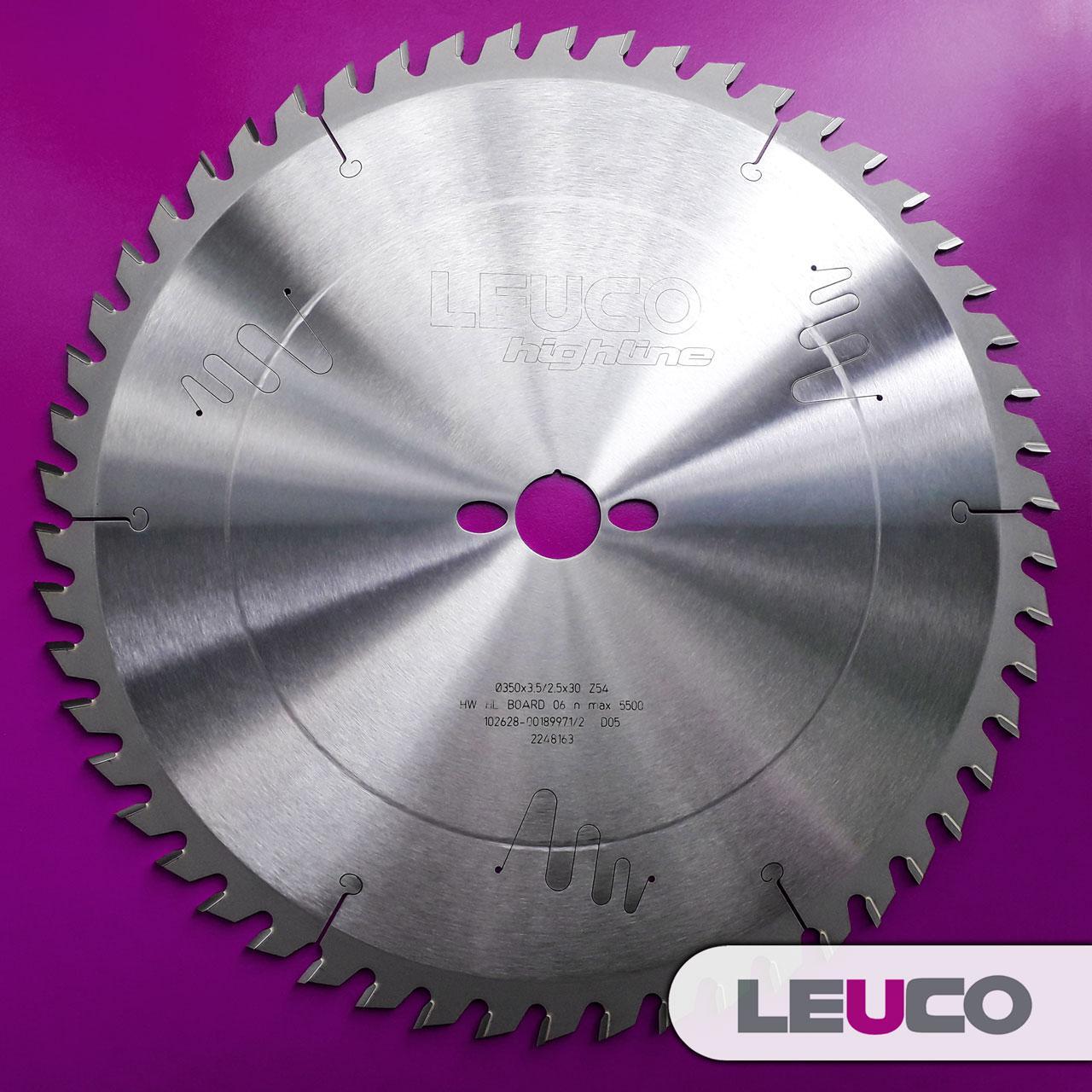 400x3,5x2,5x30 Z=60 Універсальна дискова пила Leuco для торцювання і подовжнього різу