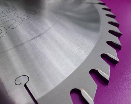 400x3,5x2,5x30 Z=60 Універсальна дискова пила Leuco для торцювання і подовжнього різу, фото 2