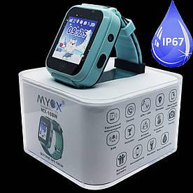 Дитячі смарт-годинник GPS MYOX МХ-16BW Blue