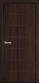 Двері Новий Стиль Ріна глухі Каштан, 900