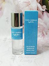 Женский мини парфюм Dolce & Gabbana Light Blue (Дольче Габана Лайт Блу) 40мл