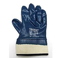 Робочі рукавички МБС (сині)