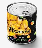 Кукурудза ROBIN Тутті-Фрутті (tutti-frutti) 200g ж/б