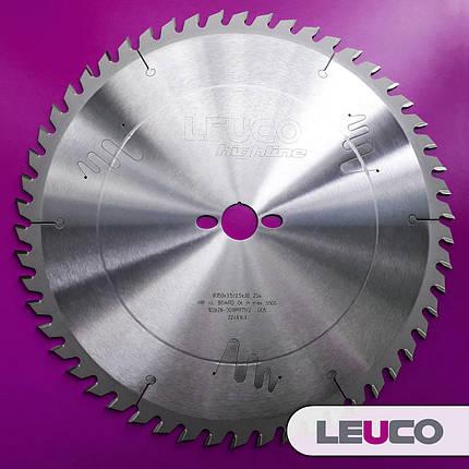 450x3,8x2,8x30 Z=66 Універсальна дискова пила Leuco для торцювання і подовжнього різу, фото 2
