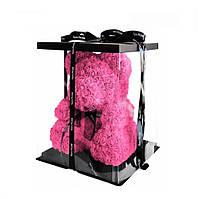 Подарок жене на 14 февраля мишка из 3д роз ко деню святого Валентина 40 см