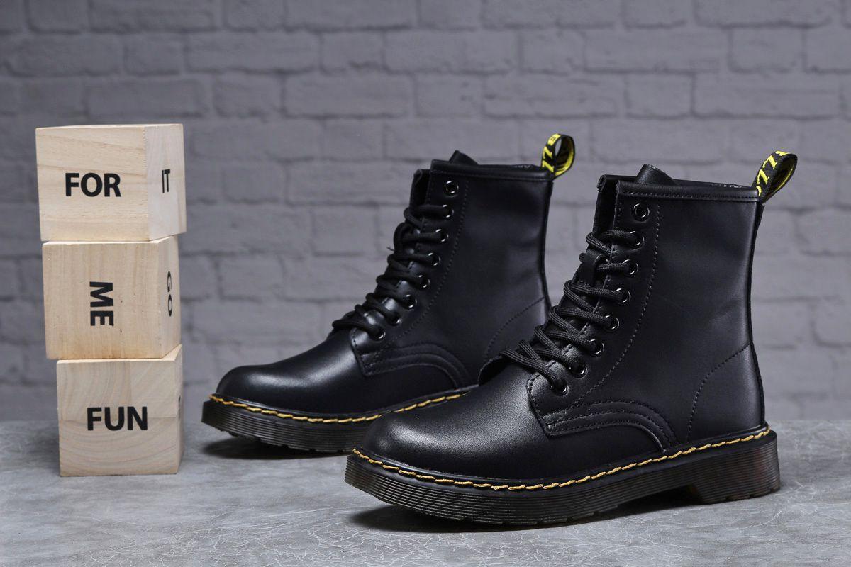 Зимові жіночі черевики 31830, Dr.Martens, чорні, [ 36 37 40 ] р. 36-23,0 див.