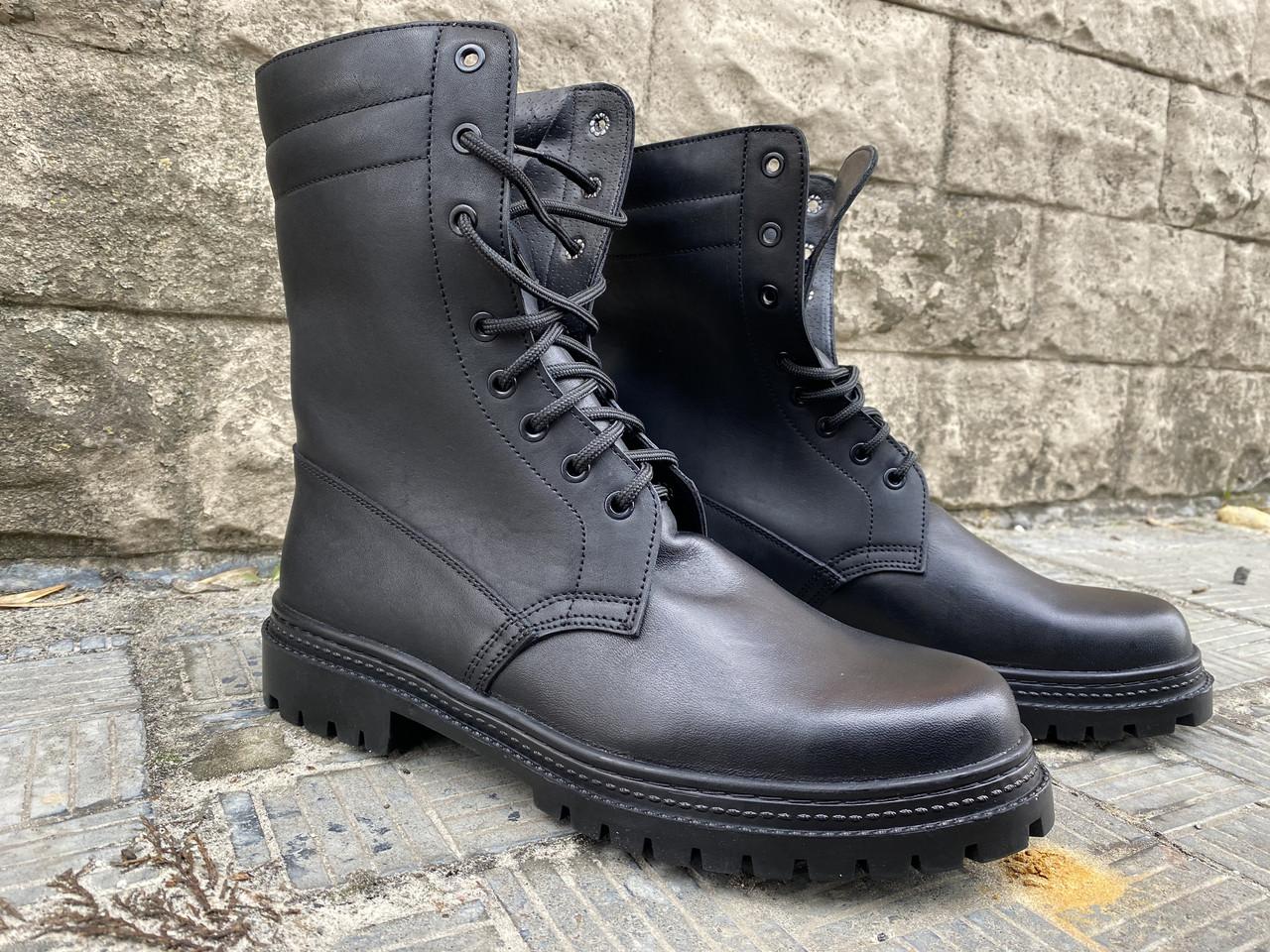 Тактические ботинки берцы из натуральной кожи Скорпион К