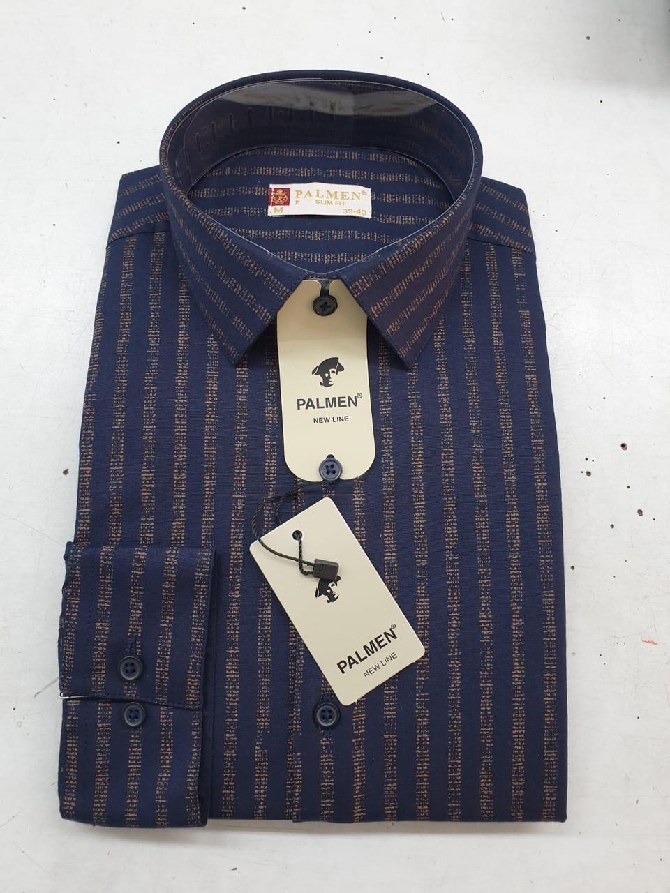 Чоловіча сорочка Palmen slim в полоску