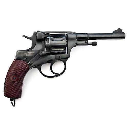 Макет револьвера Нагана