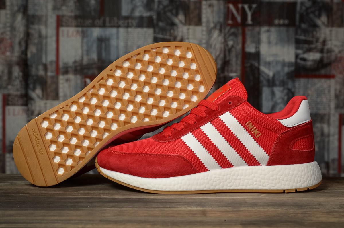 Кросівки чоловічі 16864, Adidas Iniki, червоні, [ 44 45 ] р. 44-27,6 див.