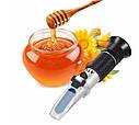 Рефрактометр для цукру меду 0-90% Brix тестер цукристості АТС RZ117, фото 2
