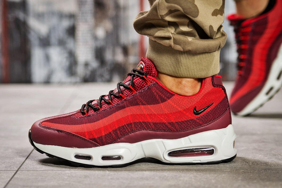 Кроссовки мужские 12761, Nike Aimax, красные, [ 44 ] р. 44-28,6см.