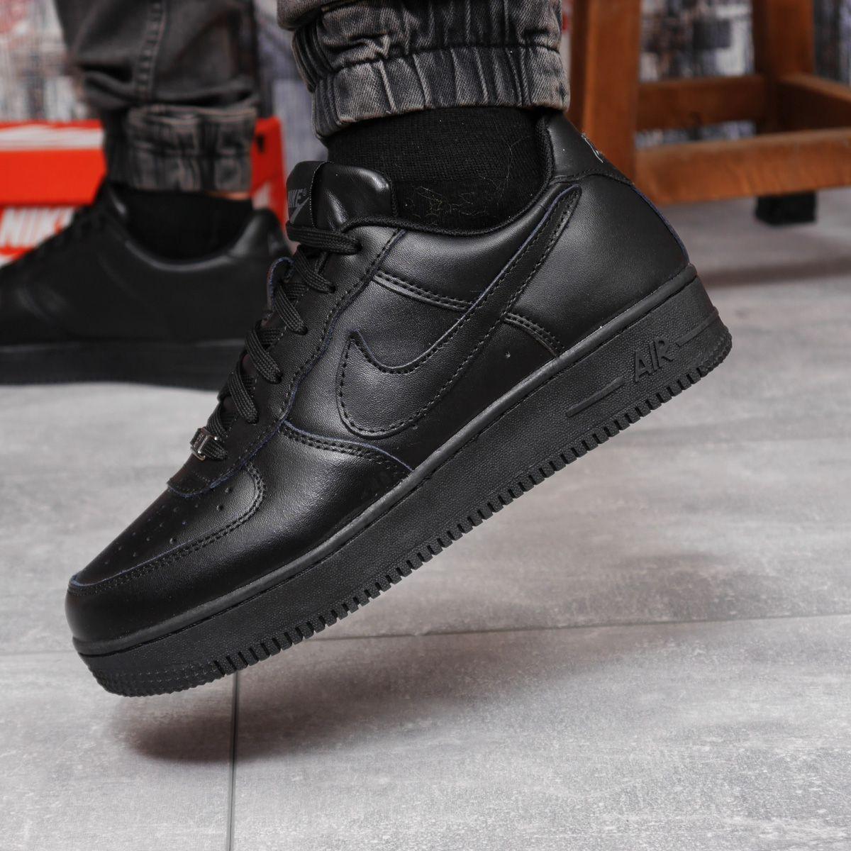 Кросівки чоловічі 18062, Nike Air, чорні, [ 41 42 44 45 46 ] р. 41-26,7 див.