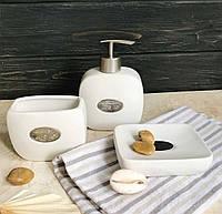 Набір керамічних аксесуарів для ванної 3 предмета