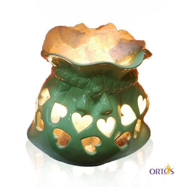 Соляна лампа «Мішечок щастя»