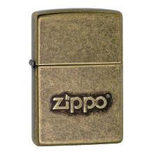 Зажигалка Zippo 201FB Zippo Stamp  (28994)