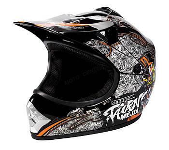 Детский кросс-шлем WL-801A Junior Tatan Black M Марка Европы