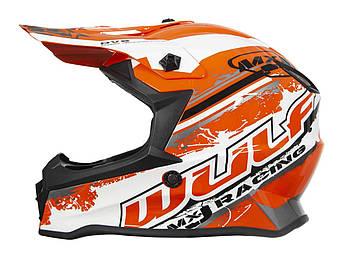 Кросс-шлем Wulf PRO Junior Orange L Марка Европы