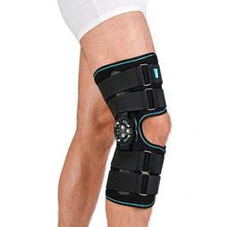 Ортез колінного суглоба, неопреновий, шарнірний, з регульованим кутом згину Алком 4032