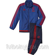 AP0078 Костюм спортивный детский adidas FC Manchester United Lined Suit