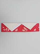 Органайзер с крышкой 31*24*12 см, на 7 отделений, для хранения мелких предметов одежды красного цвета, фото 3