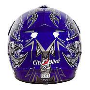 Шлем MD-905 Tatan Cross Синий M, фото 3