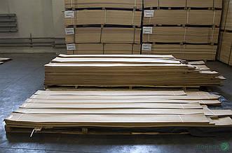 Шпон Дуба - 0,6 мм, довжина від 0,50 - 0,75 м / ширина від 9 см (I гатунок)