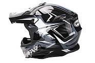 Шлем NAXA C9 Черный XXL Марка Европы, фото 2