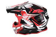 Кросс-шлем NAXA C9 Red XS Марка Европы, фото 2