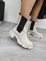 Замшеві черевики Челсі, фото 1